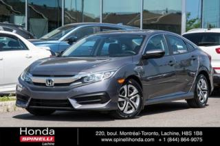 Used 2016 Honda Civic LX TRES BAS KM AUTO AUTO TRES BAS KM AC CRUISE BLUETOOTH for sale in Lachine, QC