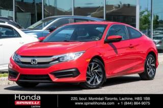 Used 2017 Honda Civic LX MANUELLE MAGS MANUELLE MAGS BLUETOOTH CRUISE for sale in Lachine, QC