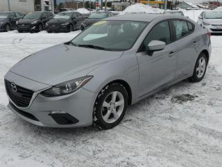 Used 2014 Mazda MAZDA3 GX-SKY-ACTIV  AIR CLIM.!! for sale in St-Georges, QC