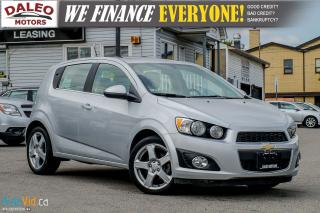 Used 2015 Chevrolet Sonic LT for sale in Hamilton, ON