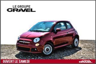 Used 2012 Fiat 500 Sport - Abs - Air clim - groupe électrique for sale in Ile-des-Soeurs, QC