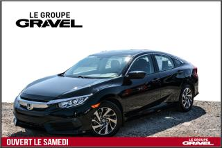 Used 2016 Honda Civic EX - Toit ouvrant - Mags - Air clim - for sale in Ile-des-Soeurs, QC