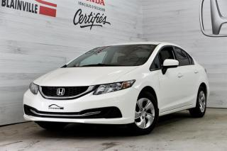 Used 2015 Honda Civic LX for sale in Blainville, QC