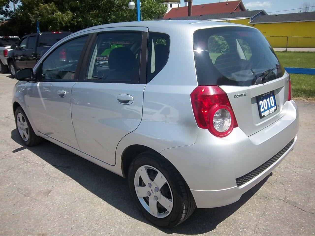 2010 Pontiac G3