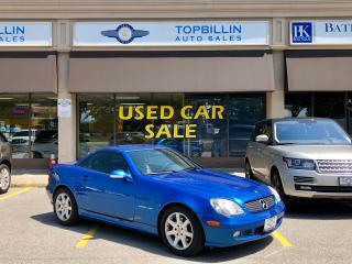 Used 2002 Mercedes-Benz SLK Only 79K kms, Extra Clean for sale in Vaughan, ON