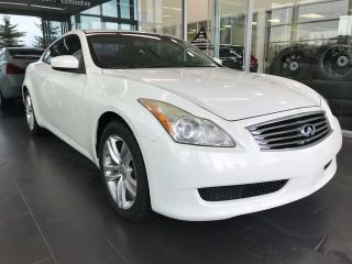 Used 2010 Infiniti G37 Coupe x AWD, POWER HEATED LEATHER SEATS, KEYLESS IGNITION, SUNROOF for sale in Edmonton, AB
