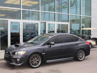Used 2016 Subaru WRX STI 6 SPEED BACKUP CAM PUSH START SUNROOF for sale in Edmonton, AB