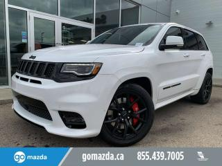 Used 2018 Jeep Grand Cherokee SRT 475HP LAGUNA LEATHER FANTASTIC CONDITION for sale in Edmonton, AB