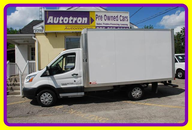 2016 Ford Transit 250 T250 12' Cube with Ramp, Diesel