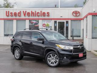 Used 2016 Toyota Highlander One Owner VERY LOW KMS   XLE   Towing Hitch  Bckp for sale in North York, ON