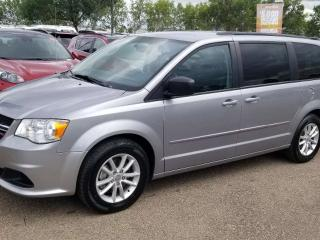 Used 2015 Dodge Grand Caravan SXT; 7PASS, BLUETOOTH, BACKUP CAM, DVD AND MORE for sale in Edmonton, AB