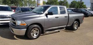 Used 2012 RAM 1500 ST; QUADCAB, 4X4, CRUISE CONTROL, A/C AND MORE for sale in Edmonton, AB