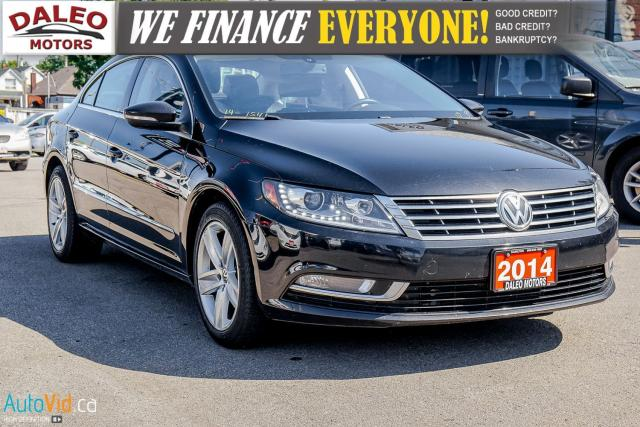 2014 Volkswagen Passat CC Sportline | LEATHER | NAV | SUNROOF | BACK UP CAM