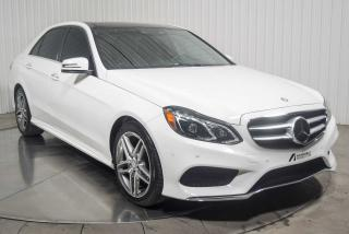 Used 2016 Mercedes-Benz E-Class E400 4 MATIC MAGS 18 POUCES NAVIGATION T for sale in St-Hubert, QC