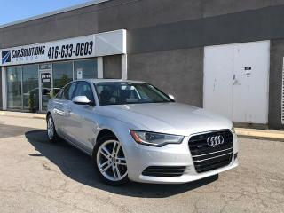 Used 2013 Audi A6 NAVI-CAMERA-SUN ROOF for sale in Toronto, ON
