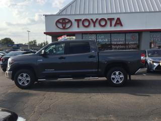 Used 2018 Toyota Tundra SR5 CREWMAX 5.7v8 for sale in Cambridge, ON