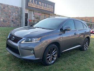 Used 2013 Lexus RX 350 F sport.AWD.NAVI. REAR CAM. HEADS UP DISP. BLUETOOTH. for sale in North York, ON