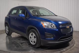 Used 2016 Chevrolet Trax LS A/C BLUETOOTH for sale in St-Hubert, QC