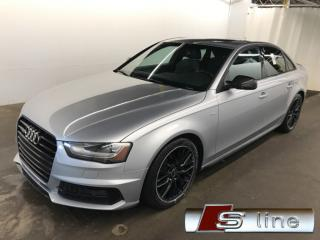 Used 2015 Audi A4 2.0T S-LINE COMPETITION PACK NAVI PADDLE SHIFT for sale in St-Eustache, QC