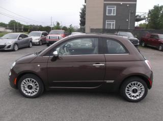 Used 2013 Fiat 500 Voiture à hayon 2 portes Lounge for sale in Ancienne Lorette, QC