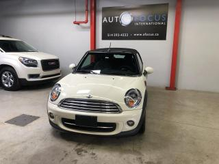 Used 2013 MINI Cooper CONVERTIBLE AUTOMATIQUE, BLUETOOTH, 2 PORTES, INT., for sale in Montréal, QC