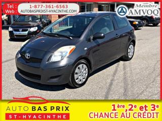 Used 2011 Toyota Yaris CE for sale in St-Hyacinthe, QC