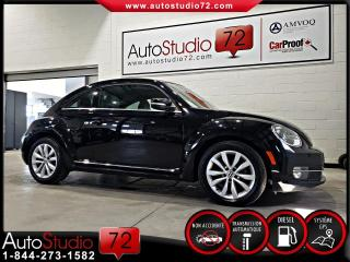 Used 2013 Volkswagen Beetle Comfortline DSG TDI 2,0 L **NAVI**TOIT P for sale in Mirabel, QC
