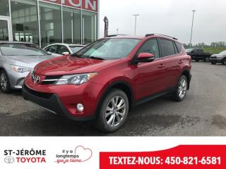 Used 2014 Toyota RAV4 Awd Ltd Cuir for sale in Mirabel, QC