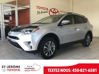 Used 2016 Toyota RAV4 Xle Hybride for sale in Mirabel, QC