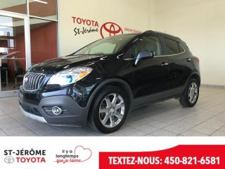 Used 2013 Buick Encore * AWD * CUIR * TOIT * MAGS * for sale in Mirabel, QC