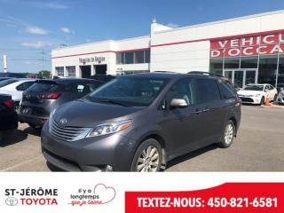 Used 2015 Toyota Sienna AWD * XLE * LIMITED * CUIR * GPS * for sale in Mirabel, QC