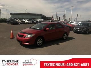 Used 2010 Toyota Corolla A/c Portes for sale in Mirabel, QC