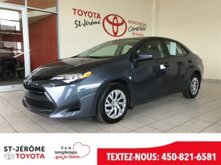 Used 2017 Toyota Corolla * LE *  * AIR * CAMÉRA DE RECUL * for sale in Mirabel, QC