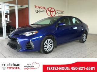 Used 2017 Toyota Corolla * SE * CAMÉRA * SIÈGES CHAUFFANT * CUIR/TISSU for sale in Mirabel, QC