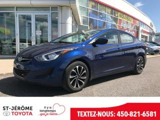 Used 2015 Hyundai Elantra * MAGS * AUTOMATIQUE * AIR * for sale in Mirabel, QC