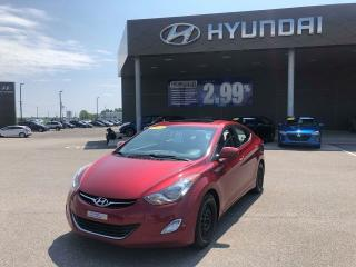 Used 2013 Hyundai Elantra GLS,MAGS,TOIT,A/C,CRUISE,BLUETOOTH for sale in Mirabel, QC
