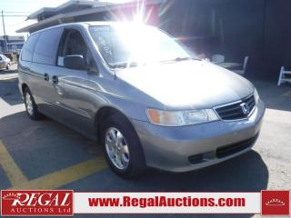 Used 2002 Honda Odyssey 4D WAGON for sale in Calgary, AB