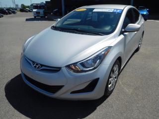 Used 2015 Hyundai Elantra GL, A/C, BANC CHAUFFANT, AUTOMATIQUE, VITRE ÉLECT for sale in Mirabel, QC