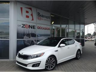 Used 2015 Kia Optima 2015 Kia Optima - 4dr Sdn Auto SX Turbo for sale in Blainville, QC
