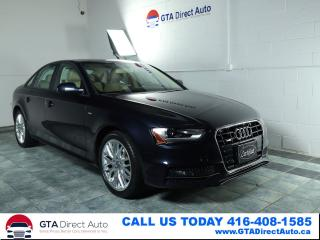 Used 2015 Audi A4 Komfort Plus S-Line Quattro Sunroof Xen Certified for sale in Toronto, ON