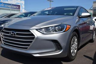 Used 2017 Hyundai Elantra L manuelle for sale in St-Eustache, QC