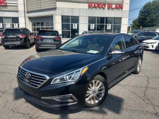 Used 2015 Hyundai Sonata LIMITED ** CUIR, MAG, BLUETOOTH, CAMERA RECUL** for sale in Mcmasterville, QC