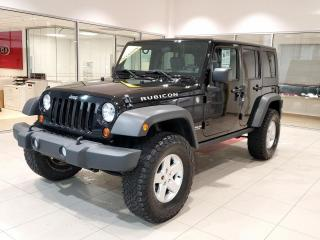 Used 2010 Jeep Wrangler Rubicon unlimited, JAMAIS ACCIDENTÉ  pet for sale in Beauport, QC