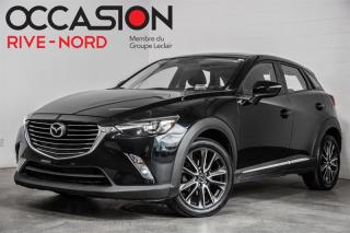 Used 2017 Mazda CX-3 GT AWD NAVI+CUIR+TOIT.OUVRANT for sale in Boisbriand, QC