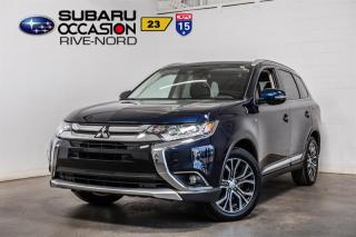 Used 2018 Mitsubishi Outlander GT S-AWC CUIR+TOIT+BLUETOOTH+CAM DE RECUL for sale in Boisbriand, QC