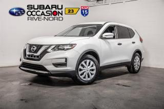 Used 2017 Nissan Rogue S BLUETOOTH+SIEGES.CHAUFFANTS+CAM.RECUL for sale in Boisbriand, QC