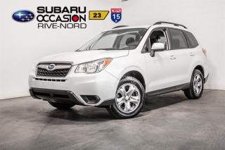 Used 2016 Subaru Forester Convenience MAGS+CAM.RECUL+SIEGES.CHAUFFANTS for sale in Boisbriand, QC