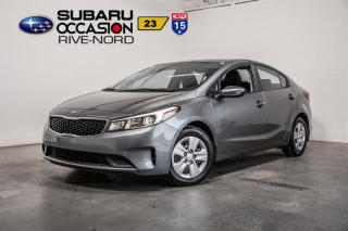 Used 2018 Kia Forte LX BLUETOOTH+A/C+GR.ELECTRIQUE for sale in Boisbriand, QC