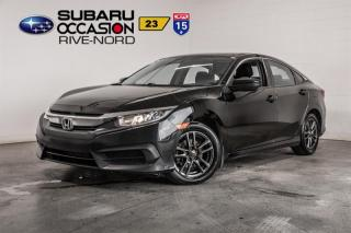 Used 2016 Honda Civic LX MAGS+SIEGES.CHAUFFANTS+CAM.RECUL for sale in Boisbriand, QC
