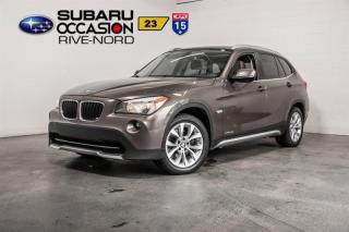 Used 2012 BMW X1 28i CUIR+TOIT.PANO+SIEGES.CHAUFFANTS for sale in Boisbriand, QC